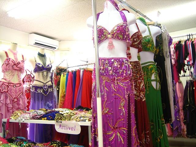 ベリーダンス衣装 通販 名古屋